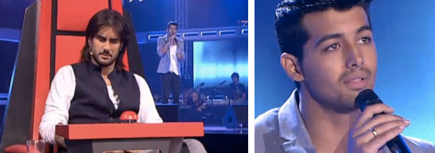 Jorge en 'La Voz'