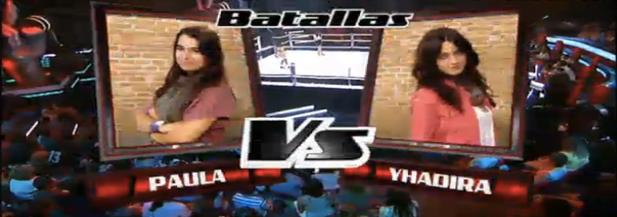 Batalla entre Paula y Yhadira