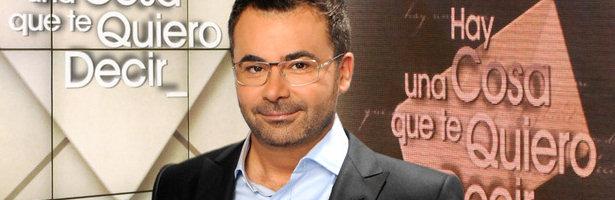 Jorge Javier Vázquez, presentador de 'Sálvame' y 'Hay una cosa que te quiero decir'