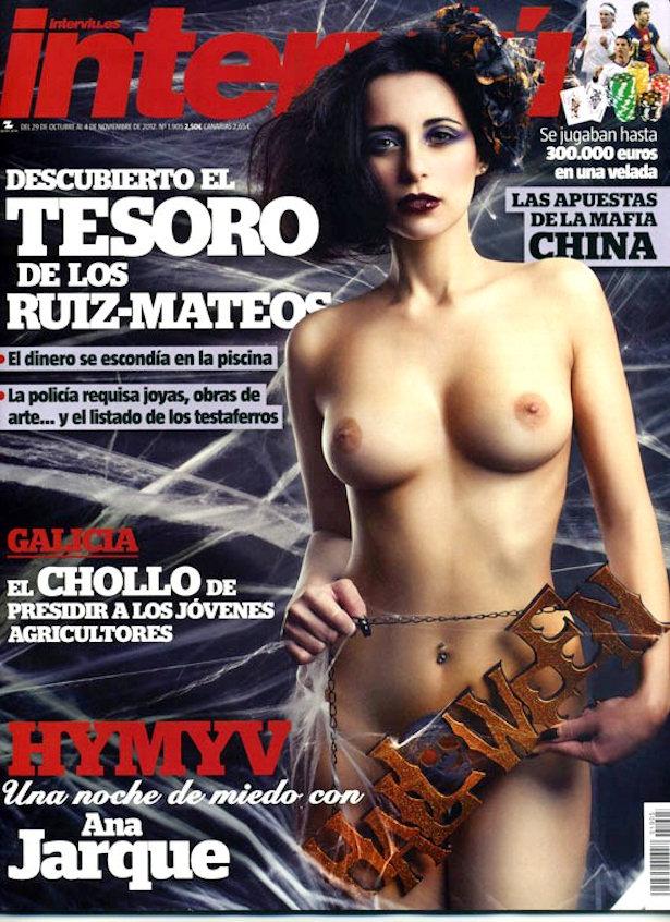 Ana Jarque De Mujeres Y Hombres Viceversa Se Desnuda En Intervi