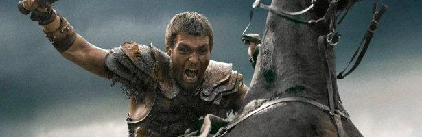 Liam McIntyre en la tercera temporada de 'Spartacus'