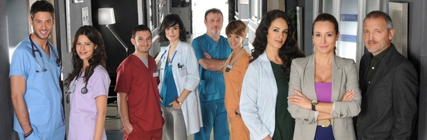 El elenco de la última temporada de 'Hospital Central'