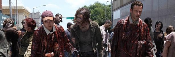 Glenn y Rick en una escena de la primera temporada de 'The Walking Dead'