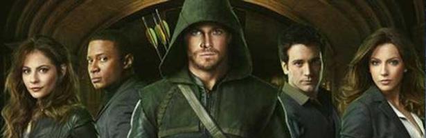 Protagonistas de la serie 'Arrow'