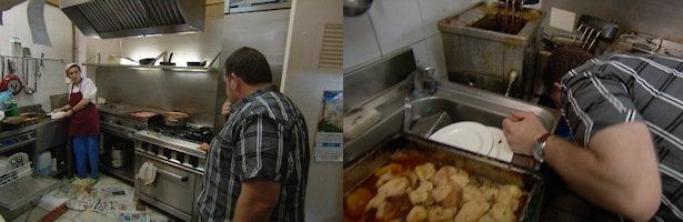 Alberto Chicote vomita tras ver las condiciones insalubres de la cocina del Castro de Lugo