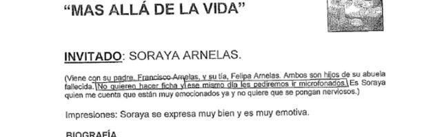 Dossier de Soraya Arnelas