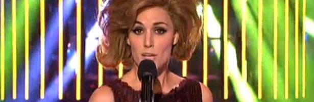 Edurne imita a Conchita Bautista en 'Tu cara me suena'