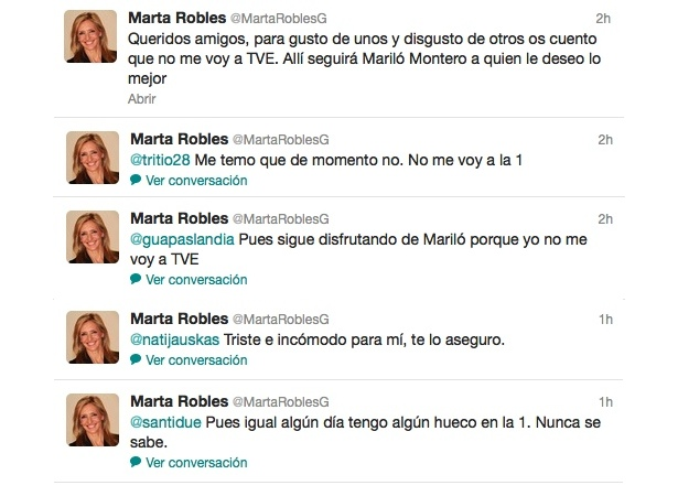 Tweets Marta Robles