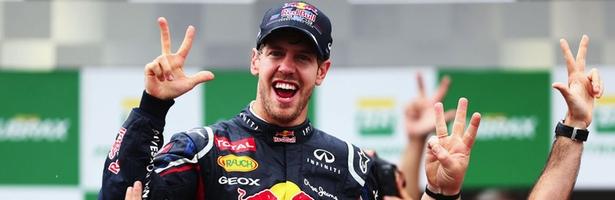 Vettel, tricampeón de Fórmula 1