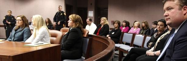 Imagen del juicio de Amy Locane