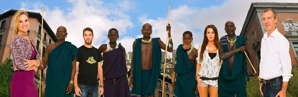 Los Suri en 'Perdidos en la ciudad'