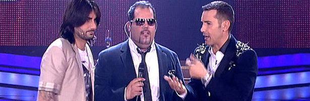 Jesús Vázquez y Melendi intentan aclarar lo ocurrido con Ruimán