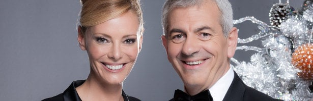Paula Vázquez y Carlos Sobera recibirán 2013 en Antena 3