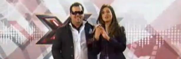 Ruimán junto a Nuria Roca en 'Factor X'