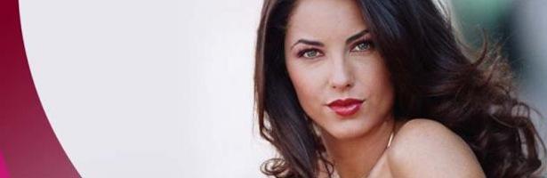 Bárbara Mori, protagonista de la telenovela 'Rubí'