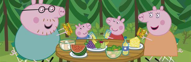 Los dibujos de Peppa Pig alcanzan el 102 en la maana de Clan