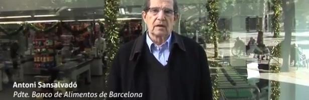 Entrevista al Presidente del Banco de Alimentos de Barcelona donde habla de la colaboración con Mercadona