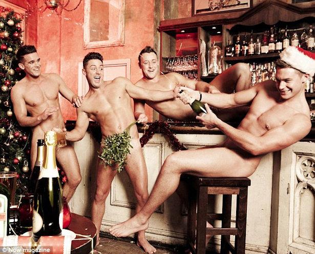 Los Chicos De Geordie Shore Se Desnudan Pletamente Para Celebrar
