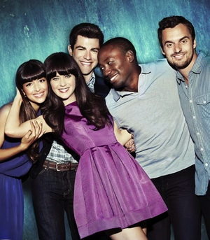El reparto de 'New Girl' en la segunda temporada