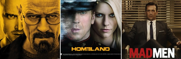 'Breaking Bad', 'Homeland' y 'Mad Men', las tres mejores series de 2012