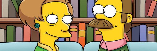 Edna y Ned Flanders tendrán una cita en la nueva temporada de 'Los Simpson'