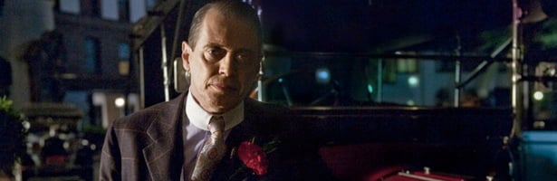 Steve Buscemi es Nucky Thompson, el amo de Atlantic City