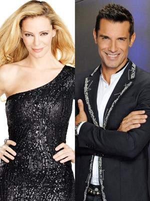 Paula Vázquez y Jesús Vázquez, los presentadores