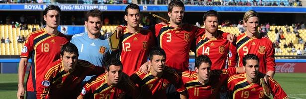 La Selección Española en la Copa Confederaciones del 2009