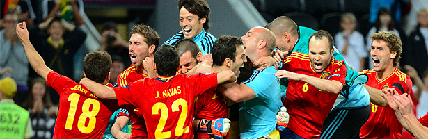 España-Portugal en la Eurocopa