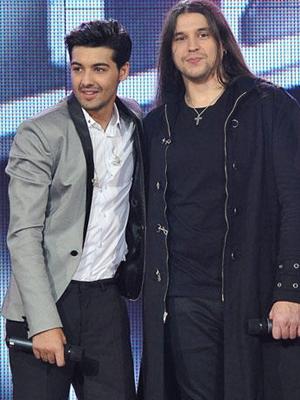 Jorge y Rafa de 'La voz'