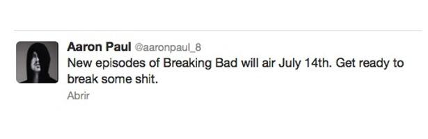 Twitter Aaron Paul