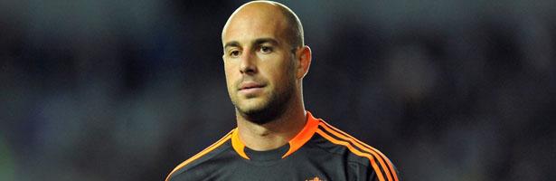 Pepe Reina, portero del Liverpool y veterano de la Selección Española