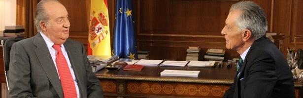Jesús Hermida entrevistas al Rey, su última aparición en televisión