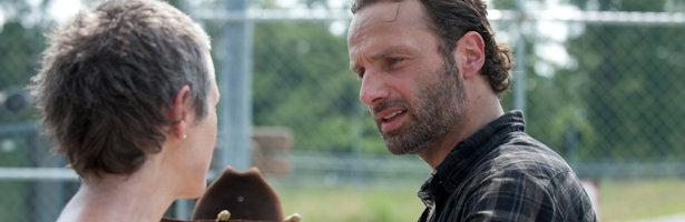 Andrew Lincoln en los nuevos episodios de 'The Walking Dead'