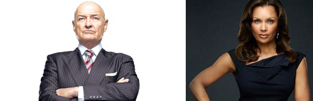 Terry O'Quinn y Vanessa Williams