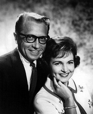 Betty White y Allen Ludden