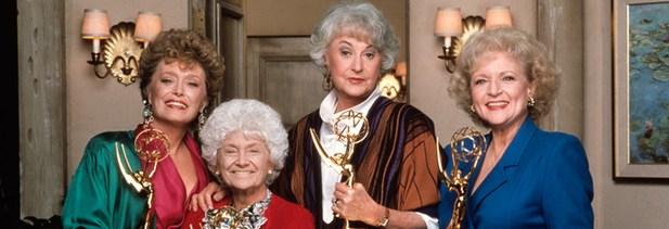 Betty White (derecha) junto a 'Las chicas de oro'