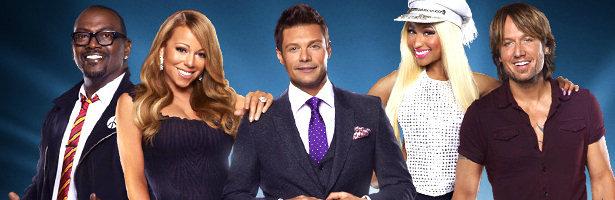 El nuevo jurado de 'American Idol' con el presentador Ryan Seacrest