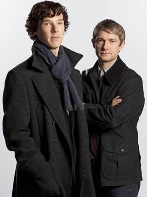 Protagonistas de 'Sherlock'