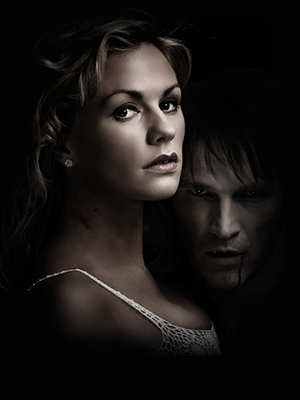 Cartel promocional de la segunda temporada de true blood