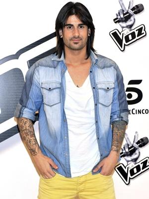 Melendi fue coach de 'La Voz' en Telecinco