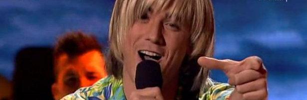 Daniel Diges imitó a Cristian Castro en la última gala de 'Tu cara me suena'