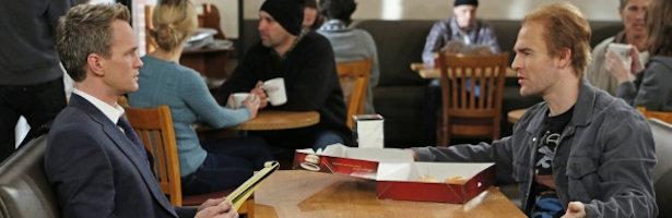 Neil Patrick Harris y James Van Der Beek en el último capítulo de 'Cómo conocí a vuestra madre'