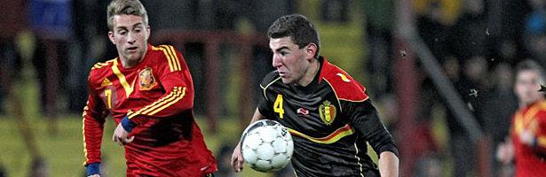España Sub 21 empató a 1 con Bélgica en el amistoso emitido por MarcaTV