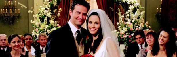 Chandler y Monica eran marido y mujer en 'Friends'