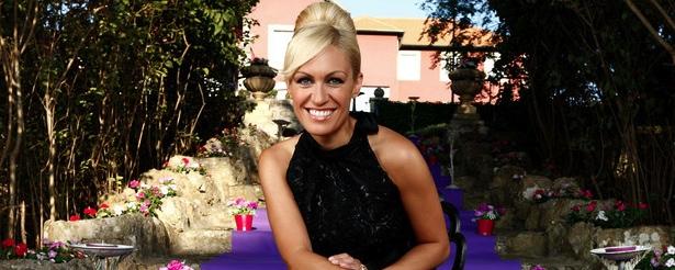 La presentadora Luján Argüelles