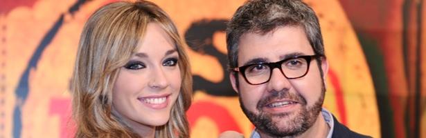 Anna Simon y Florentino Fernández, presentadores de 'Así nos va'