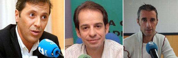 Paco González, Joseba Larrañag y José Luis Corrochano, nuevas caras del deporte de 13tv
