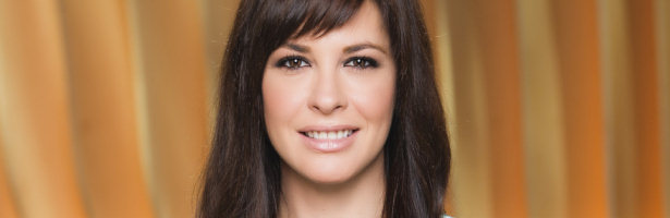 Mamen Mendizábal, presentadora de 'Más vale tarde'