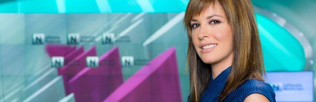 Mamen Mendizábal en el plató de 'laSexta Noticias'